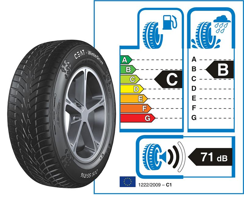 Deli Tyres Ceat Winter Drive Sticker