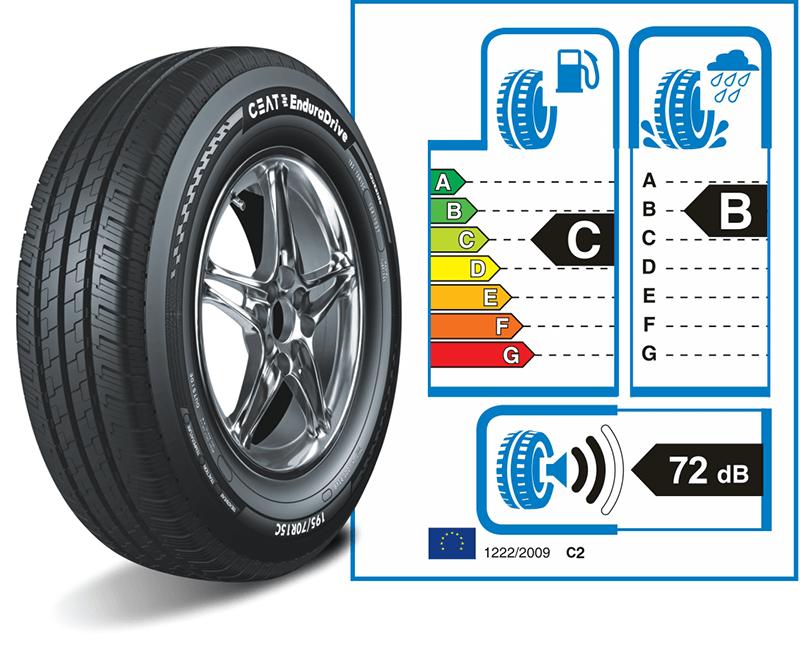 Deli Tyres Ceat Endura Drive Sticker